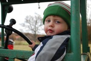 Bäst på att ratta traktorn