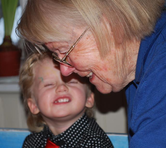 Du och jag, farmormor.